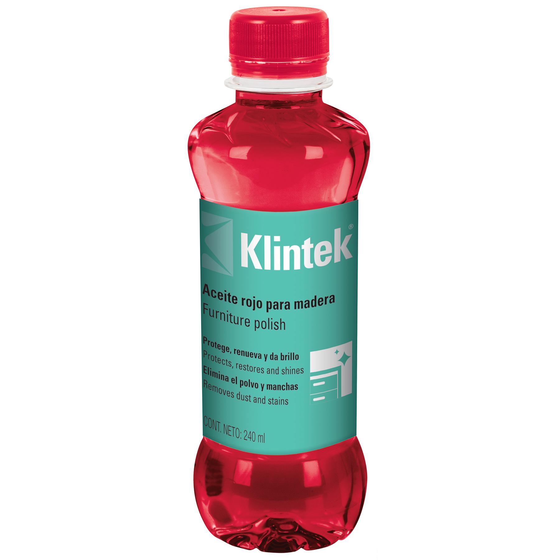Aceite rojo para muebles 240 ml