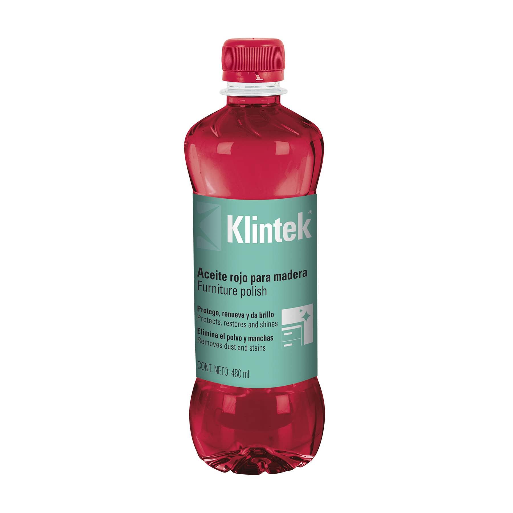 Aceite rojo para muebles 480 ml