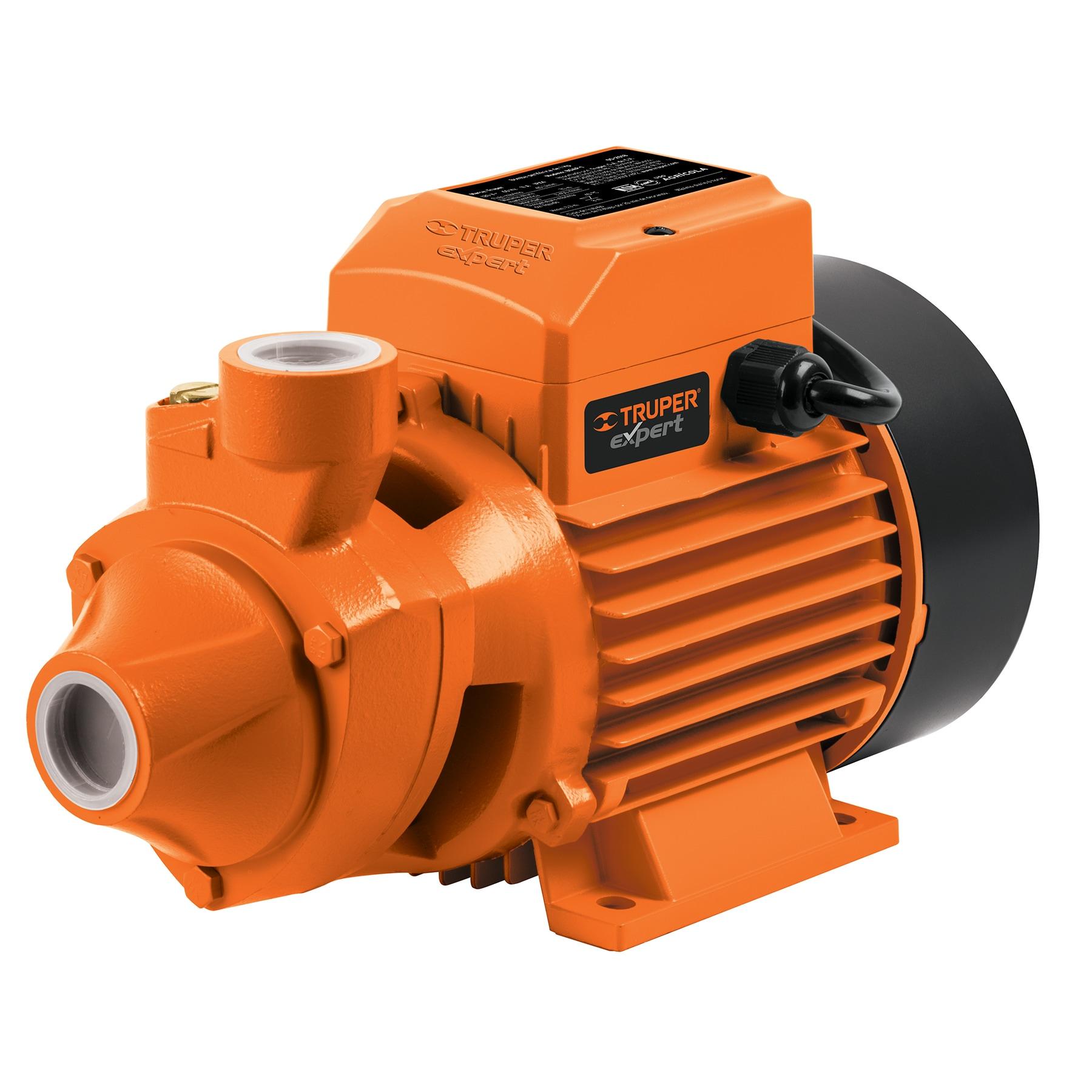 Bomba eléctrica periférica para agua 1 HP, Truper Expert