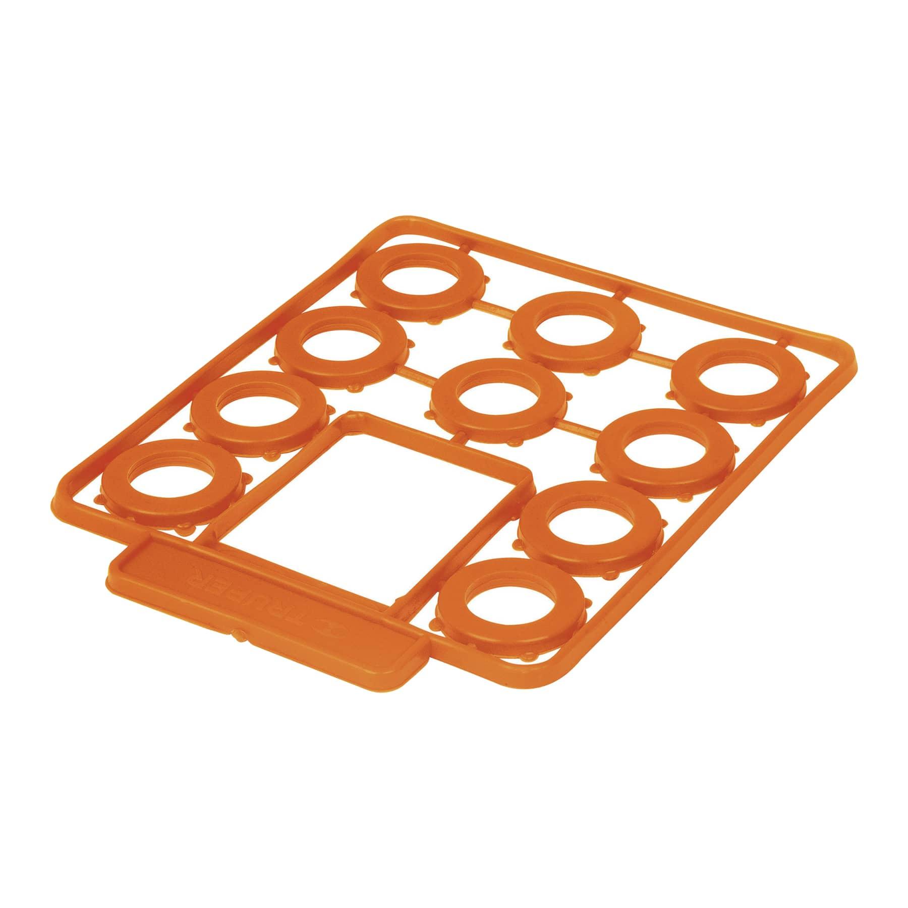 Empaques de hule para manguera, medida standard, 10 piezas