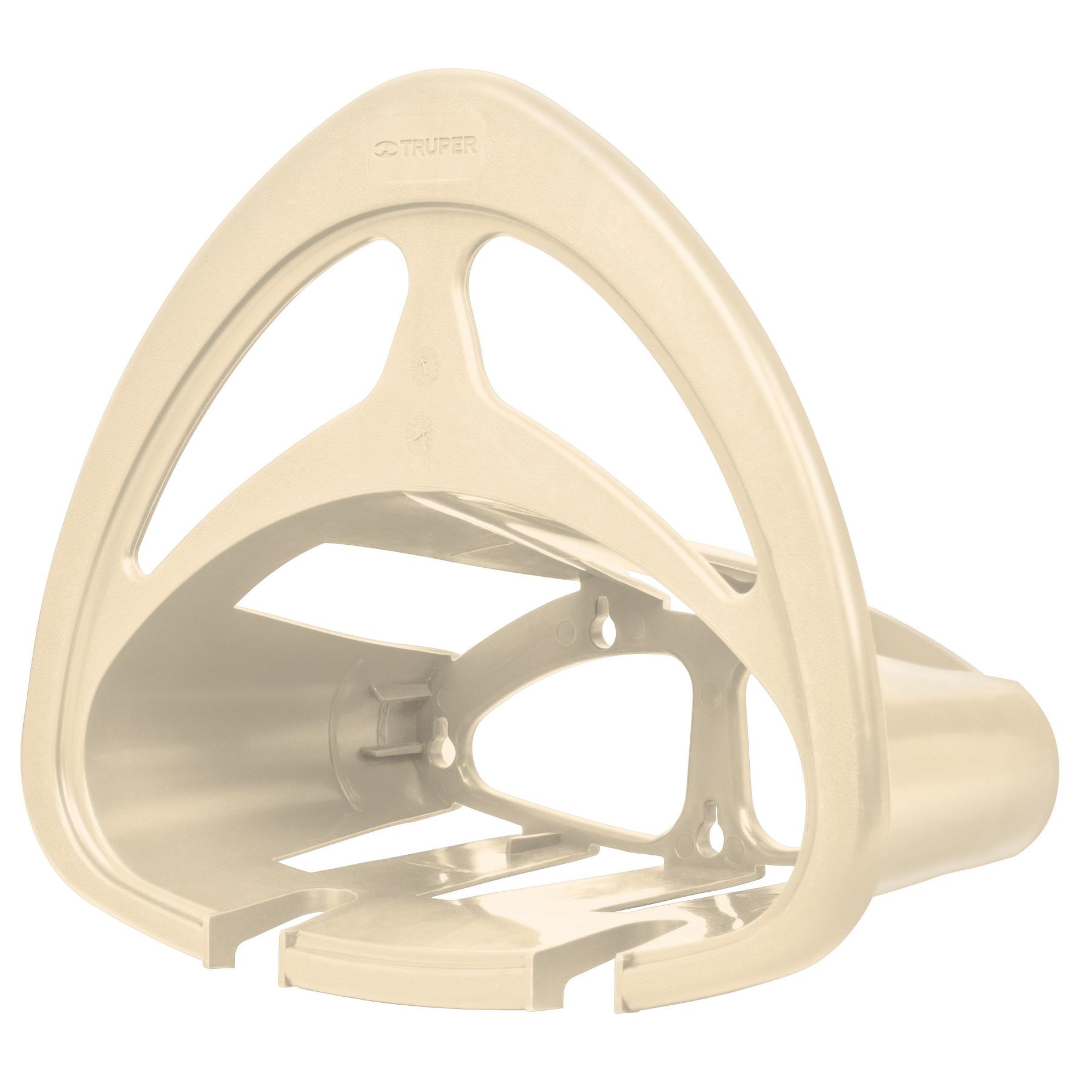Portamanguera de plástico, beige