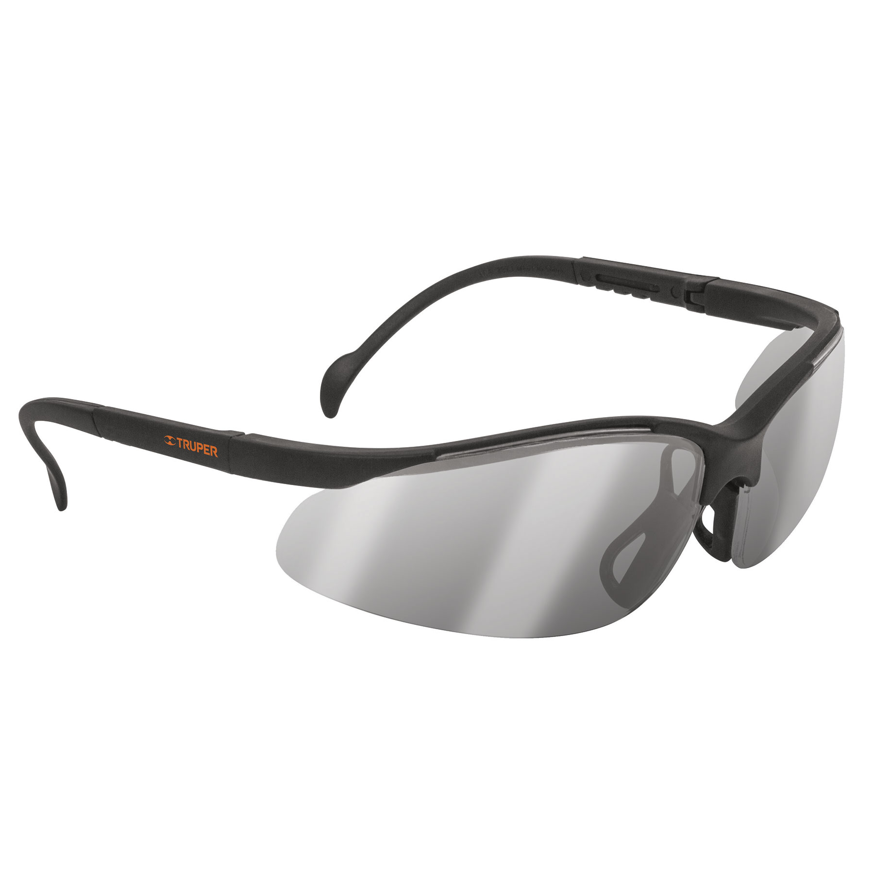 Lentes de seguridad ligeros con marco, espejo plata, Vision