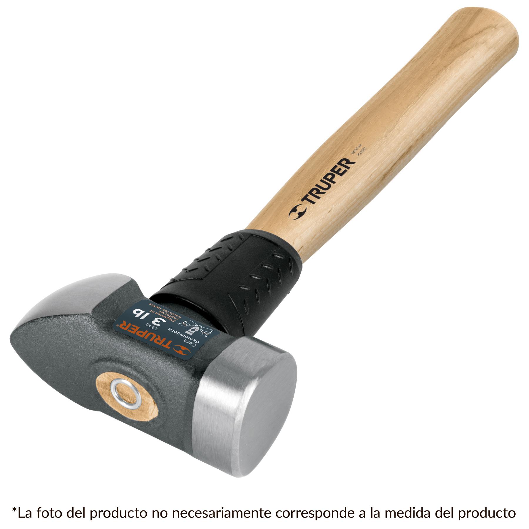 Marro demoledor 4 lb mango de madera