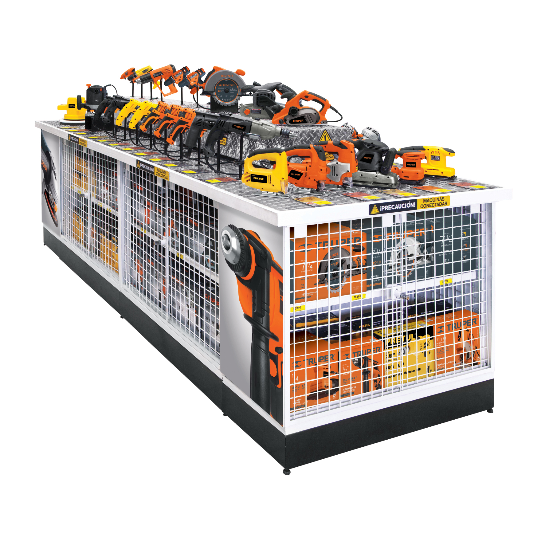 Mueble power center para herramienta eléctrica