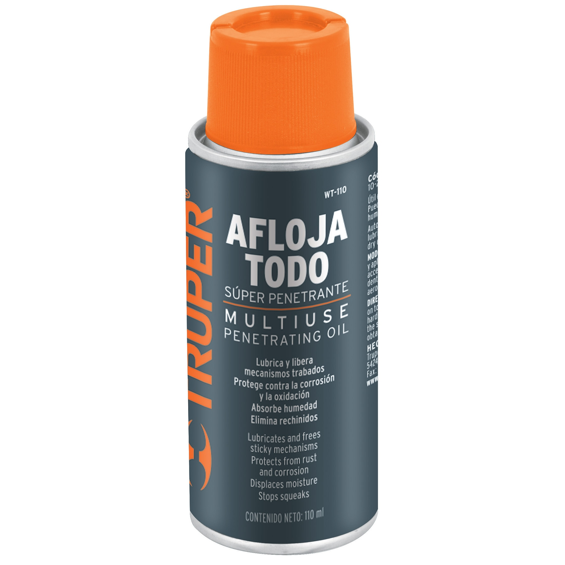 Aceite aflojatodo en aerosol, 110 ml