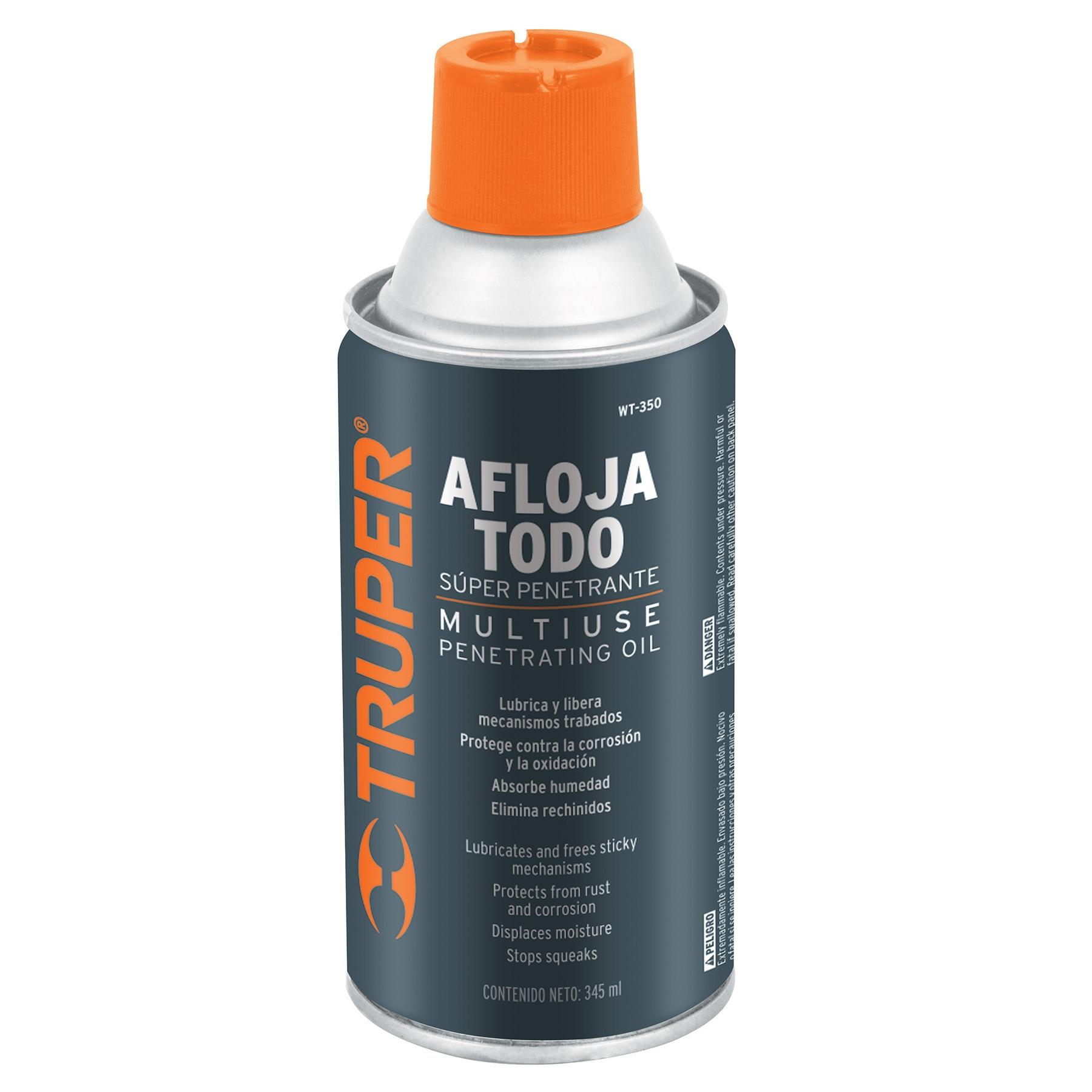 Aceite aflojatodo en aerosol, 345 ml