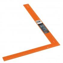 """Escuadra para cantero 16""""x24"""" de aluminio color naranja"""