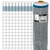 Mallas mosquiteras plásticas grises, 30 m