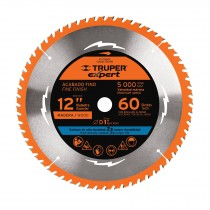 """Disco sierras diámetro 12"""", centro 1"""", Truper Expert"""
