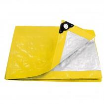 Lonas amarillas, 110 g/m2, espesor de 0.14 mm, Pretul