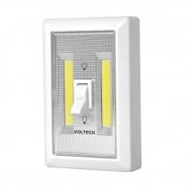 Luz de Led con interruptor para pared