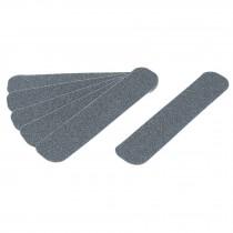 Tiras antiderrapantes de polímero, 50mm, gris, 6 pzas