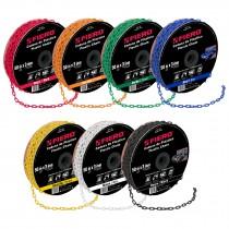 Cadenas plásticas 3 mm, 7 colores