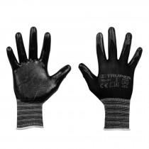 Guantes textiles con recubrimiento de nitrilo, alta sensibilidad