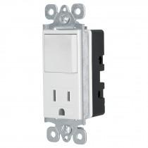 Interruptor-contacto, 2 polos + tierra, Classic