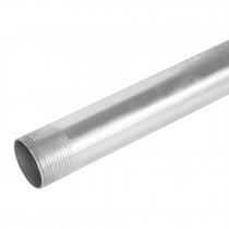 "Tubo 1-1/4"" de acero galvanizado 3 m, para pared gruesa"