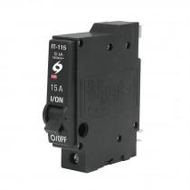 Interruptor termomagnético 1 polo 15 A, Volteck