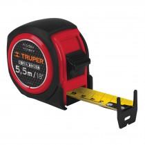 Flexómetro compacto con grip, 5.5 m, cinta 25 mm