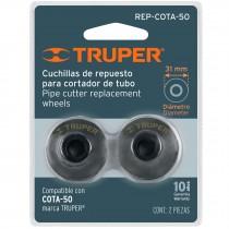Repuesto de cuchillas para cortador de tubo COTA-50, 2 pzas