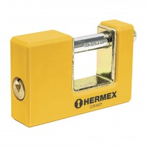 Candado antipalanca, 85mm, cuerpo metálico, Hermex Basic