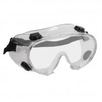 Goggles de seguridad con válvulas de ventilación indirecta