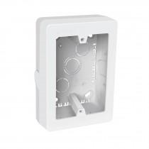 """Caja de contactos para canaleta 3"""" x 5"""", blanca, Volteck"""