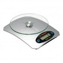 Báscula digital para cocina, 5 kg, plato de vidrio