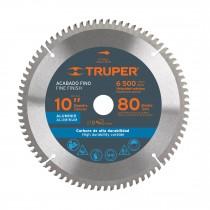 """Disco sierras diámetro 10"""", centro de 5/8"""", para aluminio"""