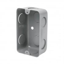 "Caja tipo chalupa de acero 2x4"", económica"