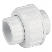 Tuercas unión lisas de PVC hidráulico