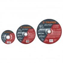 Discos para desbaste de metal, alta durabilidad
