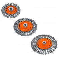 Cardas circulares, alambre trenzado, calibre 0.5 mm