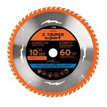 """Disco sierras diámetro 10"""", centro 1"""", Truper Expert"""