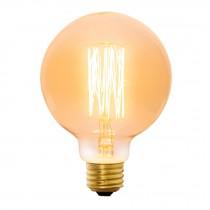 Lámpara incandescente vintage, 40W, globo