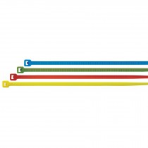 Cinchos de colores, 50 lb, 30 cm 50 pzas