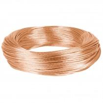 Cable cobre desnudo calibre 12 AWG, 100 m