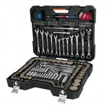 Juego de herramienta para mecánico, mixto, 199 piezas