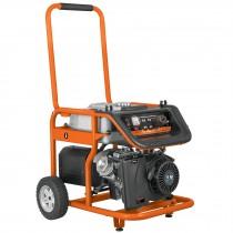 Generador eléctrico portátil con motor a gasolina, 6,500W