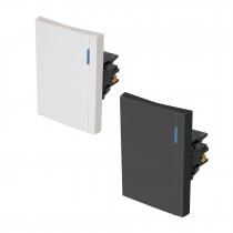 Interruptores sencillos, 3 módulos