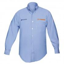 Camisas manga larga para caballero, azules
