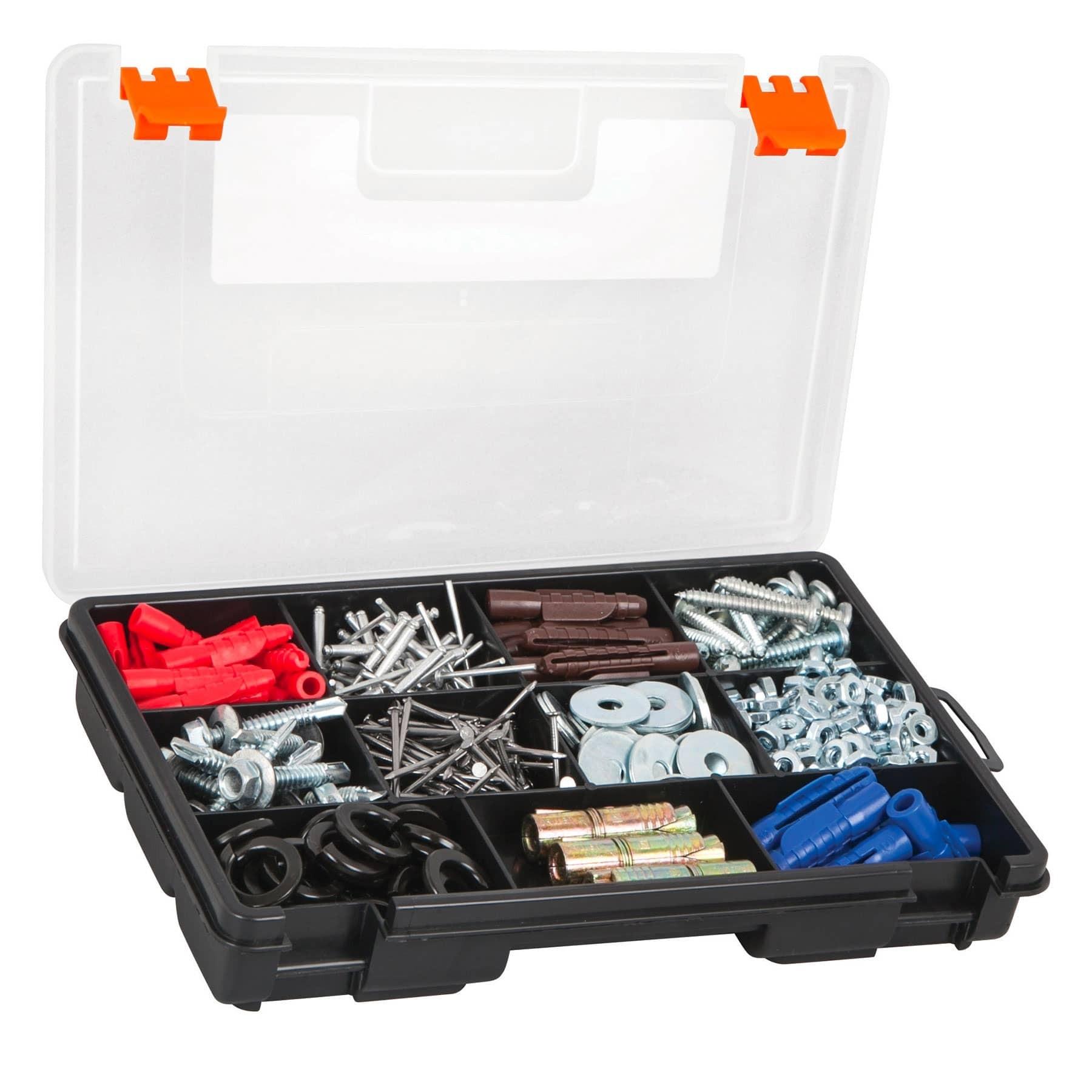 """Organizador 9"""" con 11 compartimentos"""