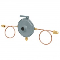 Regulador de gas de 2 vías
