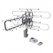 Antena aérea para tv, giratoria 360 grados a control remoto