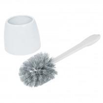 Cepillo sanitario de plástico con recipiente