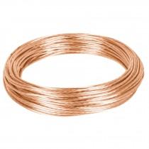Cable cobre desnudo calibre 12 AWG, 25 m