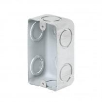 "Caja tipo chalupa, 2x4"" rectangular, reforzada, Volteck"