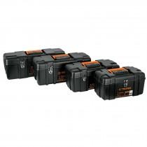 Cajas para herramienta calidad industrial, broches metálicos