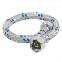 "Mangueras flexibles para W.C., trenzado aluminio, 1/2"" x 7/8"""