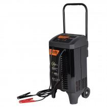 Cargador de baterías con ruedas 12 V, 200 A, Truper Expert