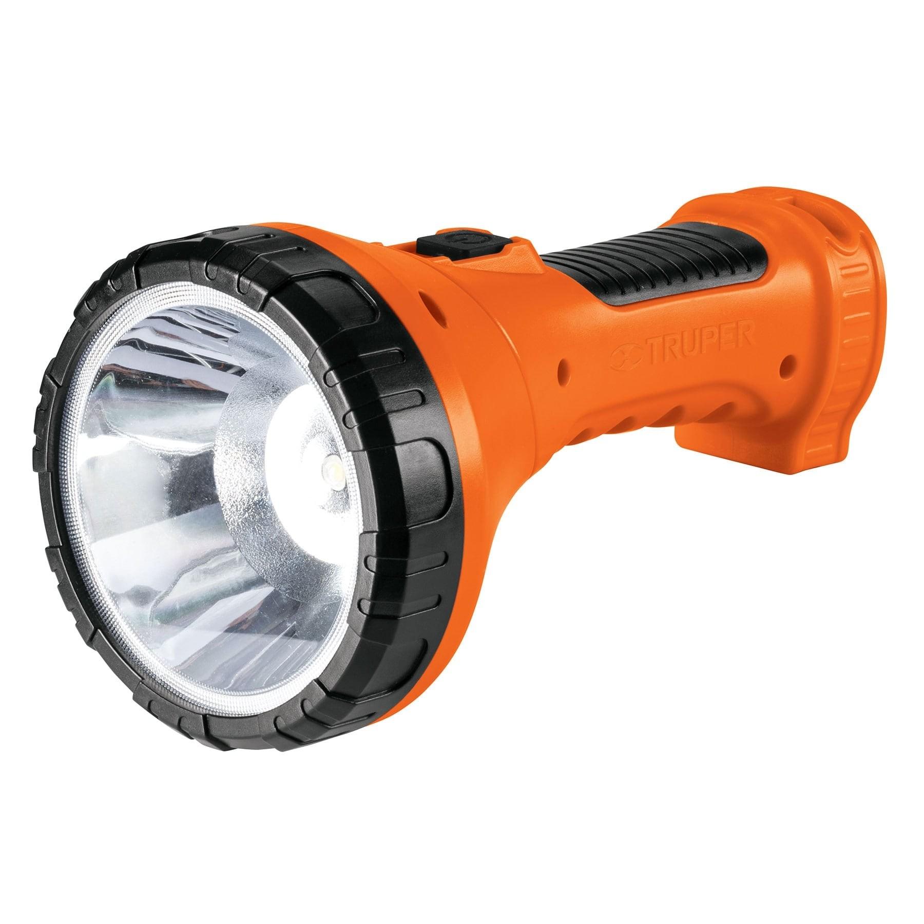 Linterna recargable de LED, 150 lúmenes